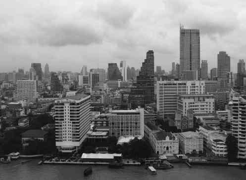 Bangkok Skyline from the Pen